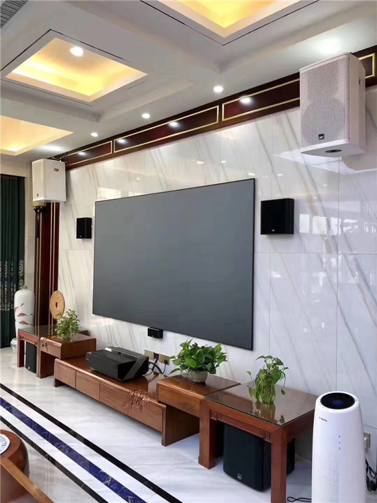 manbetx登陆中海国际别墅区5.1家庭影院影K设备-2 (1)